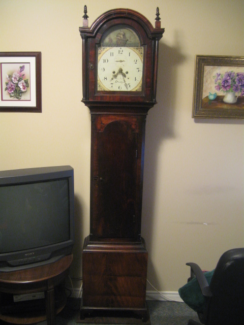 George Uglow longcase clock
